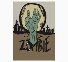 Zombie moon One Piece - Short Sleeve