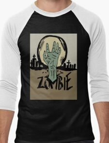 Zombie moon Men's Baseball ¾ T-Shirt