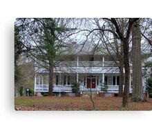 Mansion house in South Carolina Canvas Print