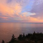 Sunset on Fundy by Peter Waller
