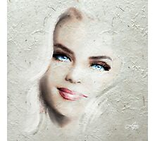 Blue Eyes Blond 22 Photographic Print