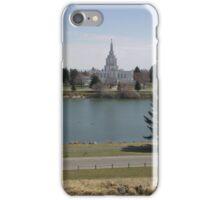 Mormon Temple - Idaho Falls Green Belt iPhone Case/Skin