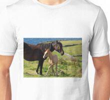 Horses In Landscape Unisex T-Shirt