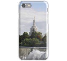 Mormon Temple - Idaho Falls Summer Time iPhone Case/Skin