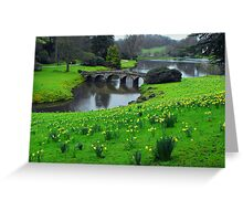Gently Meandering Greeting Card