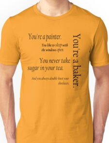 Peeta and Katniss Unisex T-Shirt