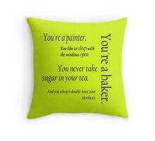 Peeta and Katniss Throw Pillow
