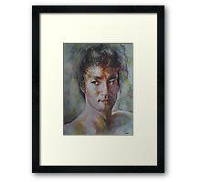 Bruce Lee - Portrait 1 Framed Print