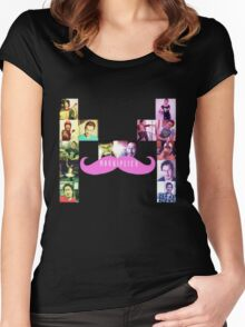 Markception logo Women's Fitted Scoop T-Shirt