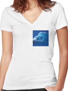 The Epic Tube Women's Fitted V-Neck T-Shirt