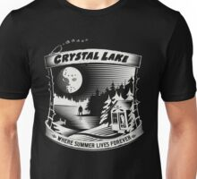 Camp Crystal Lake: Where Summer Lives Forever Unisex T-Shirt