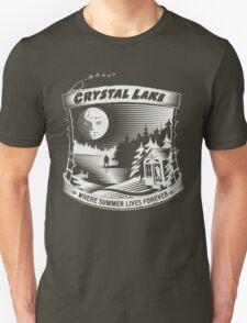 Camp Crystal Lake: Where Summer Lives Forever Unisex T-Shirt