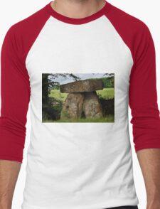 Three Shires Stone, Wiltshire, Somerset, Gloucestershire Men's Baseball ¾ T-Shirt