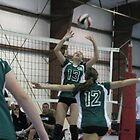 volleyball sr girls by Terri Rodstrom