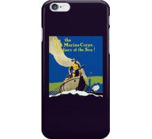 Join The US Marines Corps - Soldiers Of The Sea! iPhone Case/Skin