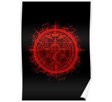 Human Transmutation Circle. Fullmetal Alchemist Poster