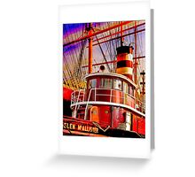 The Tug Boat Helen McAllister Greeting Card