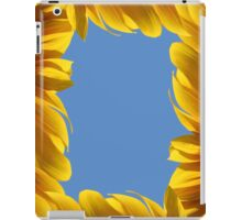 Sunflower frame iPad Case/Skin