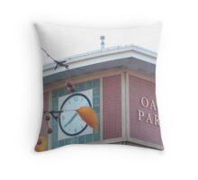 Oak Park Autumn Throw Pillow