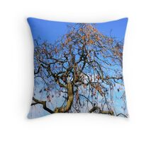 The last signs of Autumn. Throw Pillow