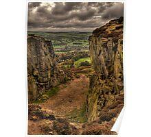 On Ilkley Moor Poster