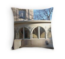 Perch in the Park Throw Pillow