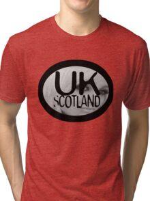 uk scottish model by ian rogers Tri-blend T-Shirt