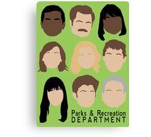 Parks Team Canvas Print