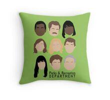 Parks Team Throw Pillow
