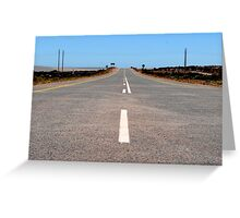 Road to Saldanha Greeting Card