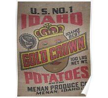 Potato Sack Sex Kitten Poster