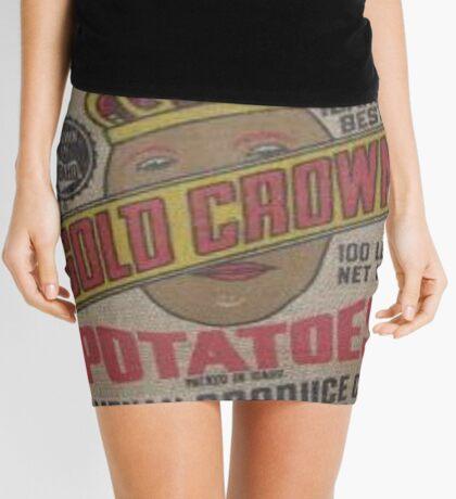Potato Sack Sex Kitten Mini Skirt