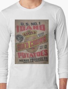 Potato Sack Sex Kitten Long Sleeve T-Shirt