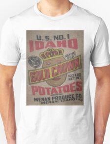 Potato Sack Sex Kitten Unisex T-Shirt