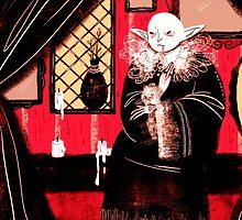 Vampire Sitting by ElinorBee