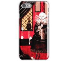 Vampire Sitting iPhone Case/Skin