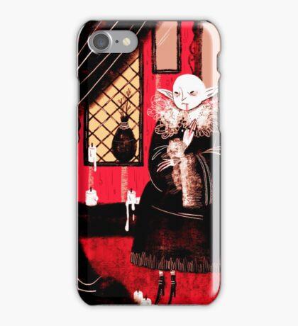 Vampire Sitting iPhone Case/Skin