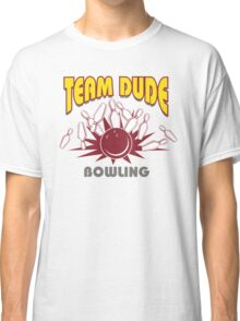 The Dude Bowling T-Shirt Classic T-Shirt