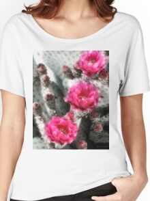Cactus Row Women's Relaxed Fit T-Shirt