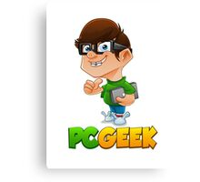 PC Geek Canvas Print