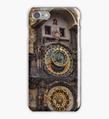 †† Prague Astronomical Clock †† iPhone Case/Skin