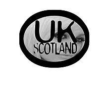 uk scotland card with stephanie by ian rogers Photographic Print