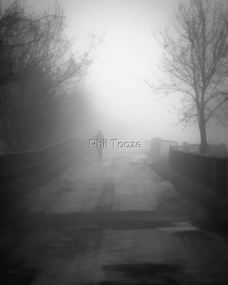 A misty walk by riotphoto