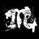 Gonzo Zodiac - Scorpio (white) by Sladeside