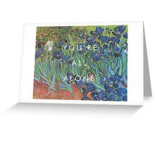pvris / van gogh / holy Greeting Card