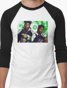 Eric B and rakim are paid in full - www.art-customized.com Men's Baseball ¾ T-Shirt