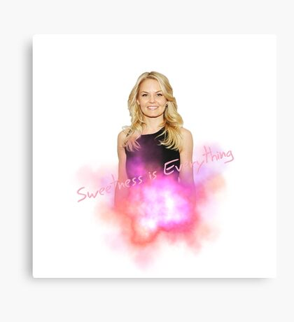 jennifer morrison / Once upon a time Canvas Print