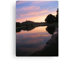 Mirror pool  Canvas Print