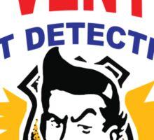 Ace Ventura Pet Detective shirt (Business Card) Sticker