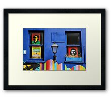 Che and Marley Framed Print
